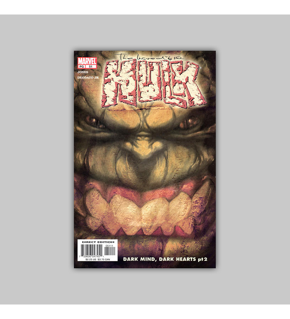 Incredible Hulk (Vol. 2) 51 2003