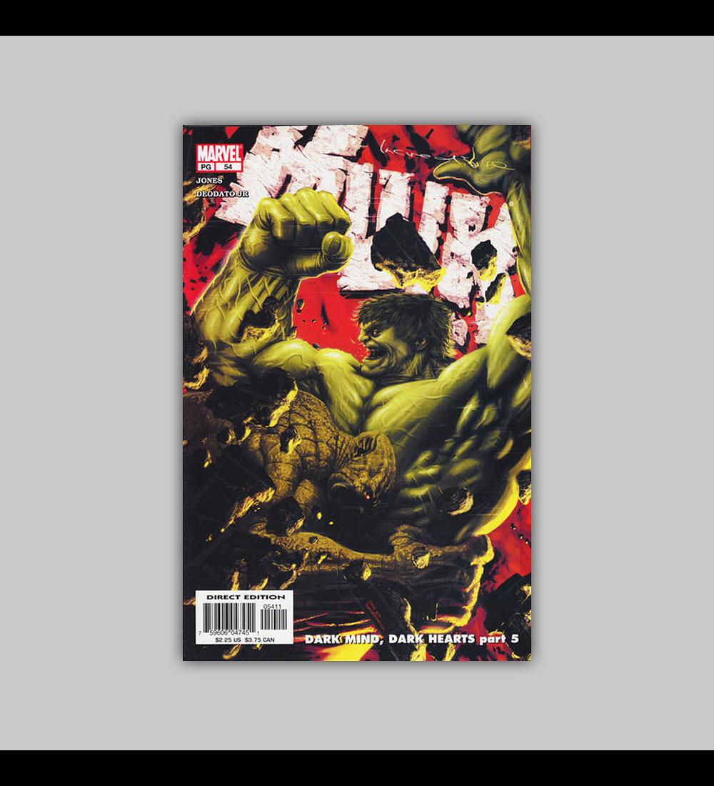 Incredible Hulk (Vol. 2) 54 2003
