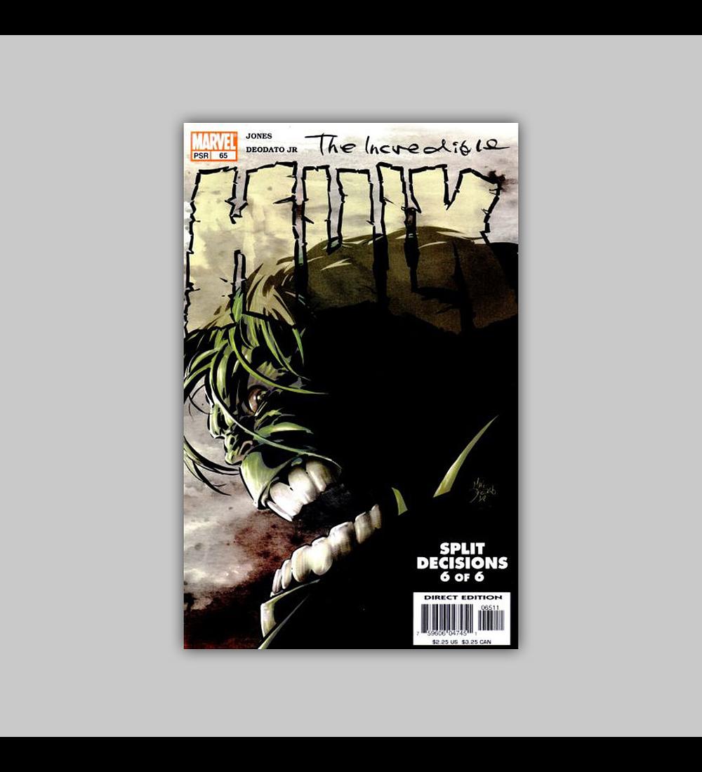 Incredible Hulk (Vol. 2) 65 2004