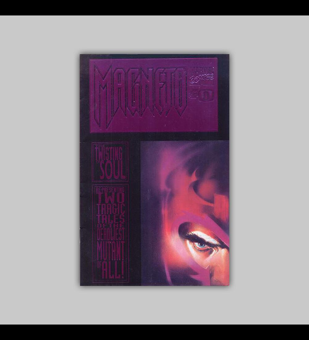 Magneto 0 Embossed Foil 1993