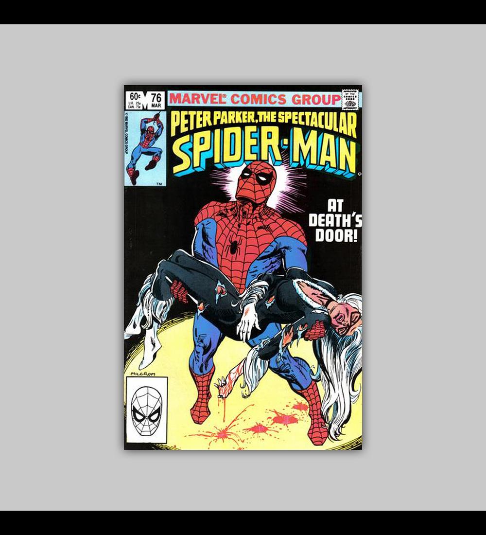 Peter Parker, the Spectacular Spider-Man 76 1983