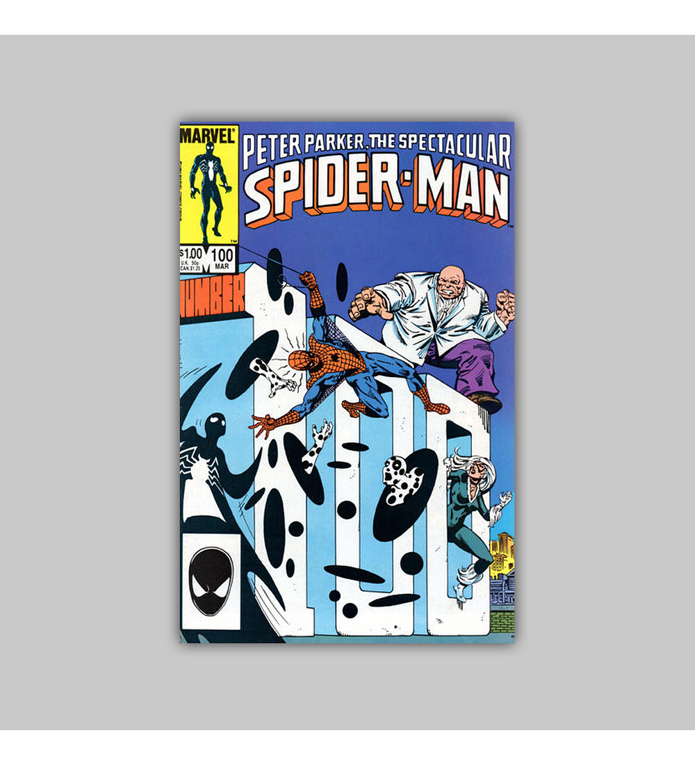 Peter Parker, the Spectacular Spider-Man 100 VF/NM (9.0) 1985