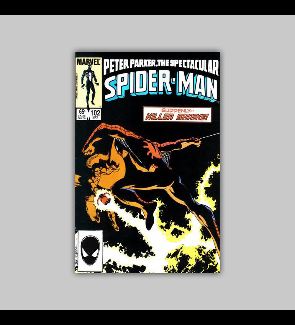 Peter Parker, the Spectacular Spider-Man 102 1985