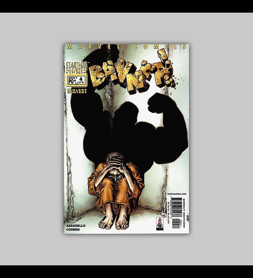 Startling Stories: Banner 4 2001