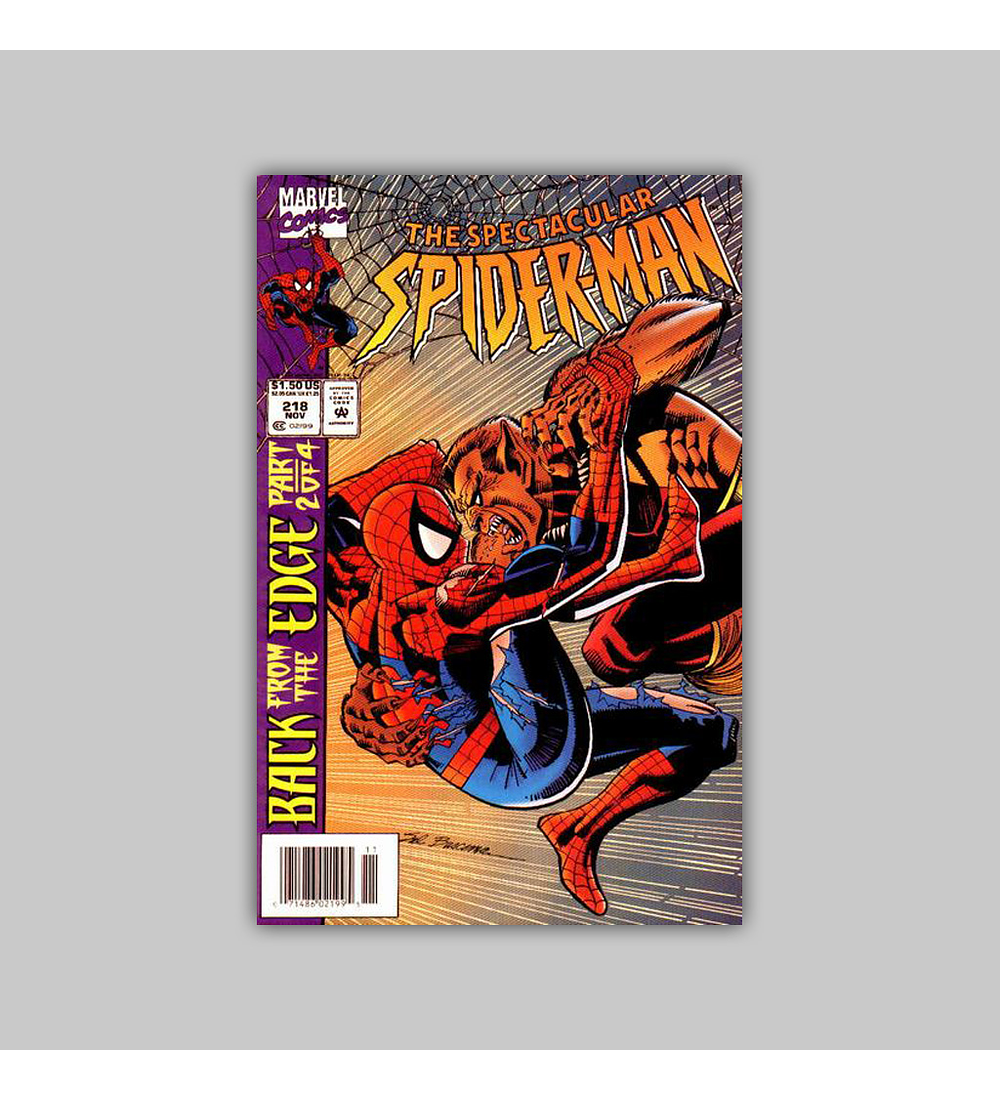 Spectacular Spider-Man 218 1994