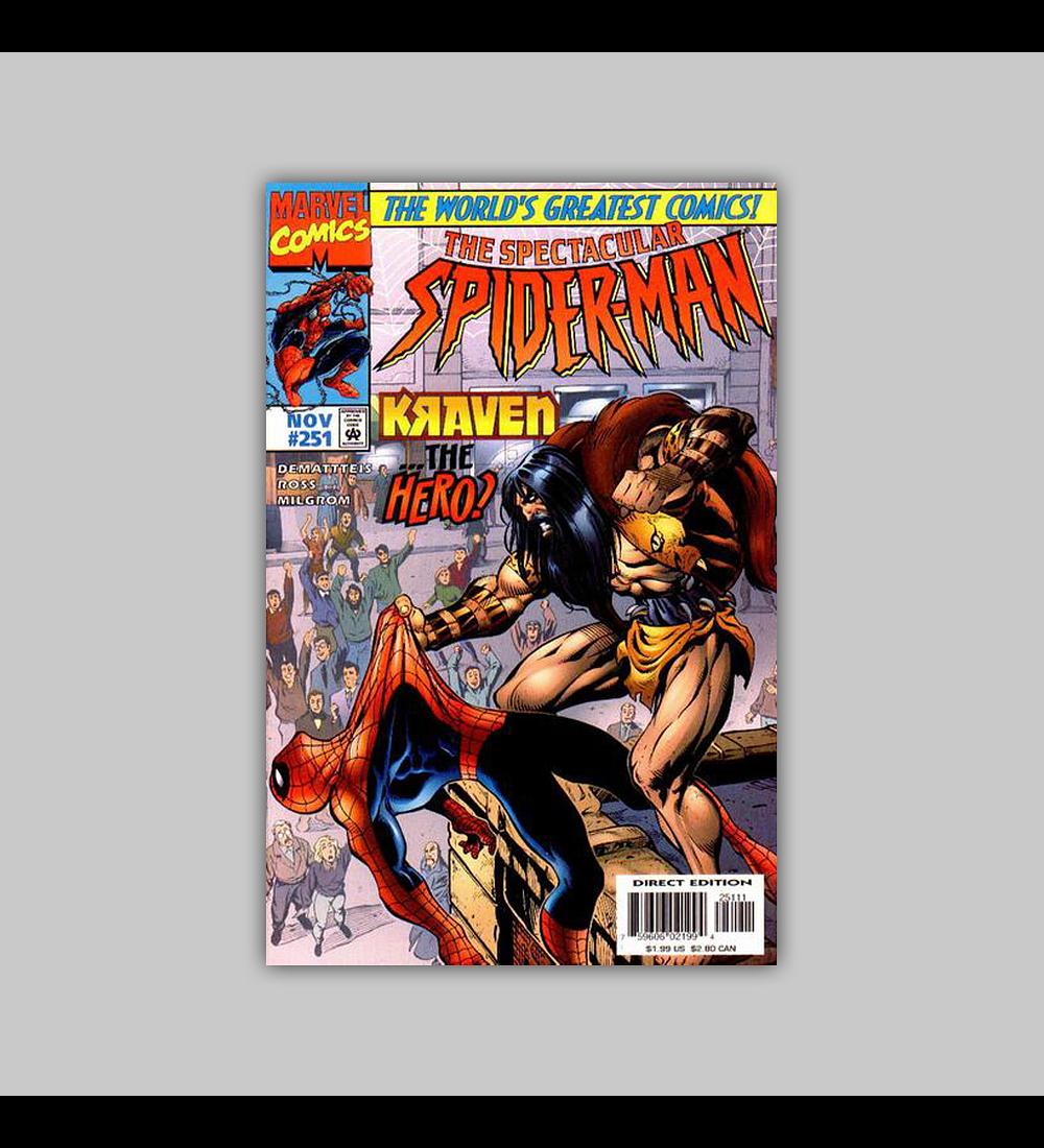 Spectacular Spider-Man 251 1997