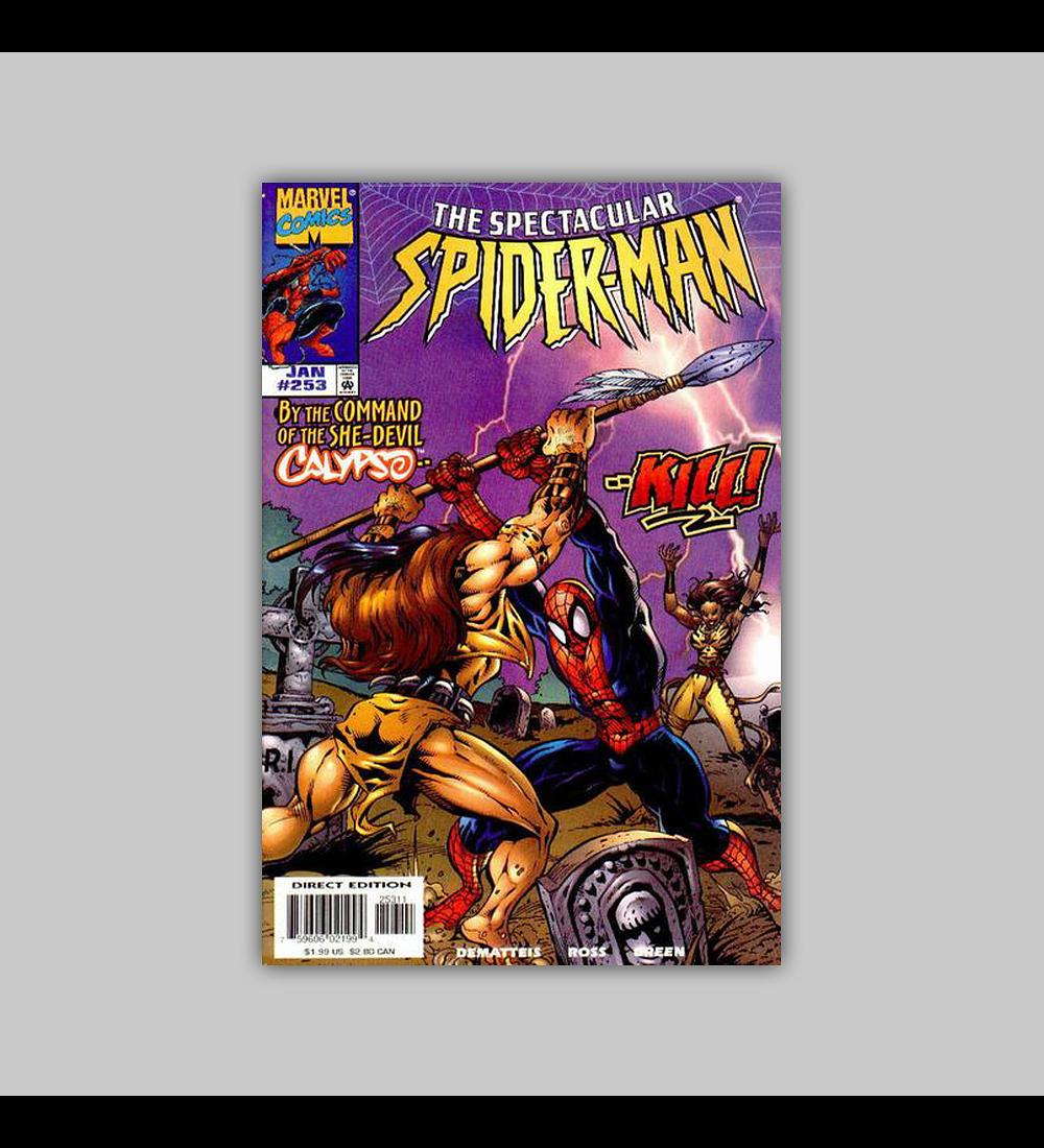 Spectacular Spider-Man 253 1998