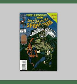 Spectacular Spider-Man 217 Foil 1994