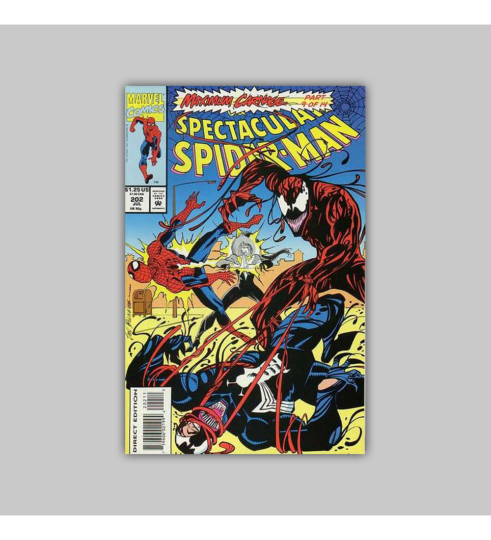 Spectacular Spider-Man 202 1993