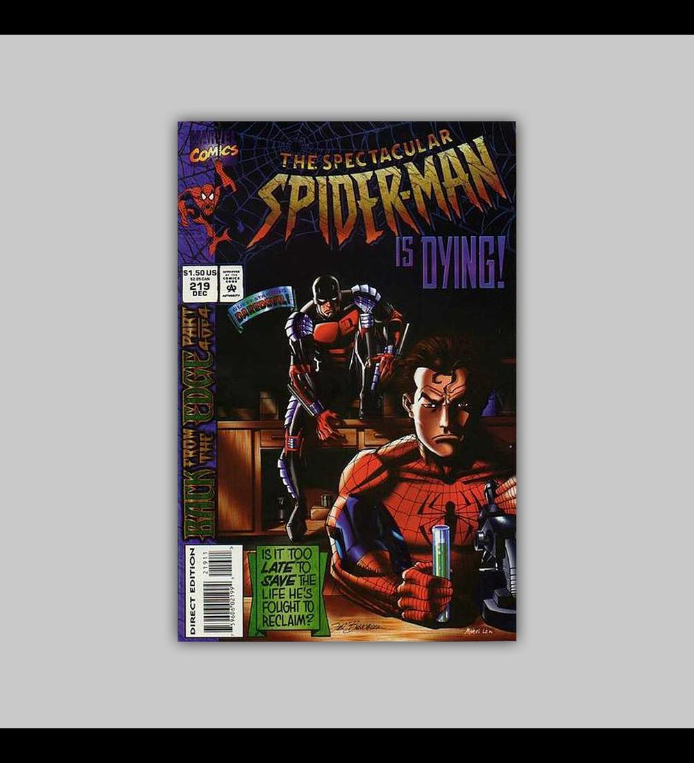 Spectacular Spider-Man 219 1994