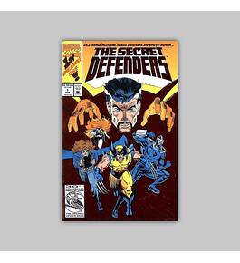The Secret Defenders 1 Foil 1993