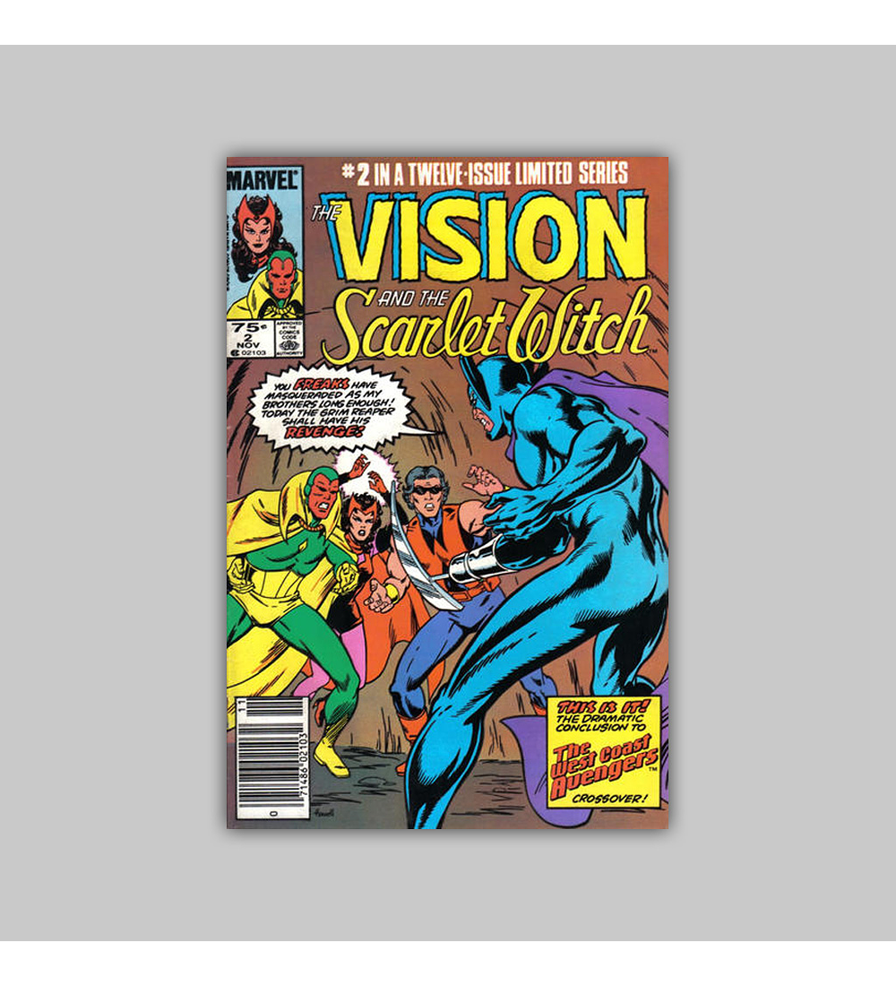 The Vision and the Scarlet Witch 2 1982