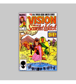 The Vision and the Scarlet Witch 3 1985