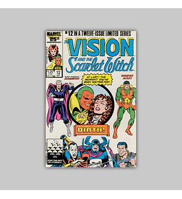 The Vision and the Scarlet Witch 12 1986