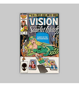 The Vision and the Scarlet Witch 9 1986