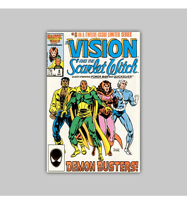 The Vision and the Scarlet Witch 8 1986