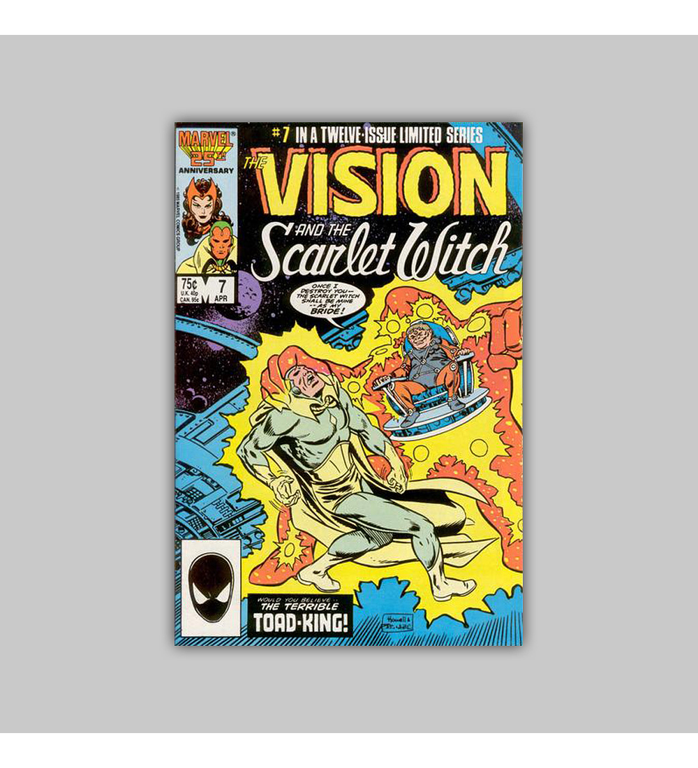 The Vision and the Scarlet Witch 7 1986