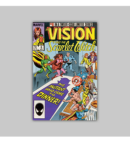 The Vision and the Scarlet Witch 6 1986