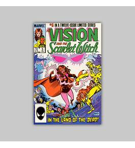 The Vision and the Scarlet Witch 5 1986