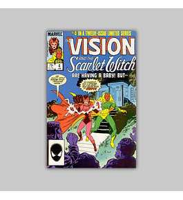 The Vision and the Scarlet Witch 4 1986
