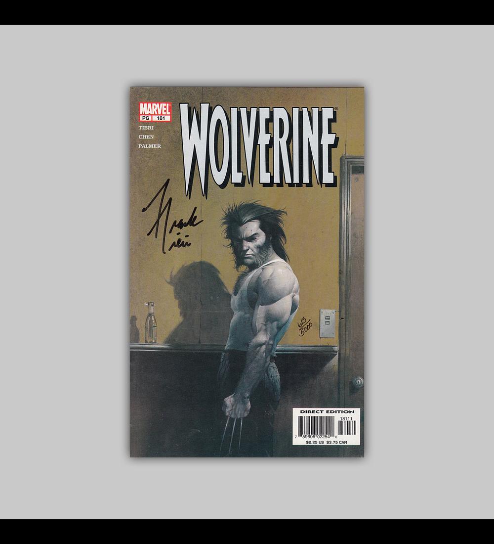Wolverine 181 Assinado 2002