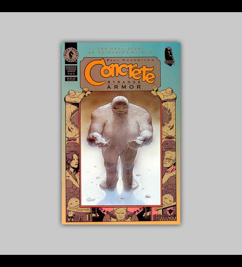 Concrete: Strange Armor (complete limited series) 1998
