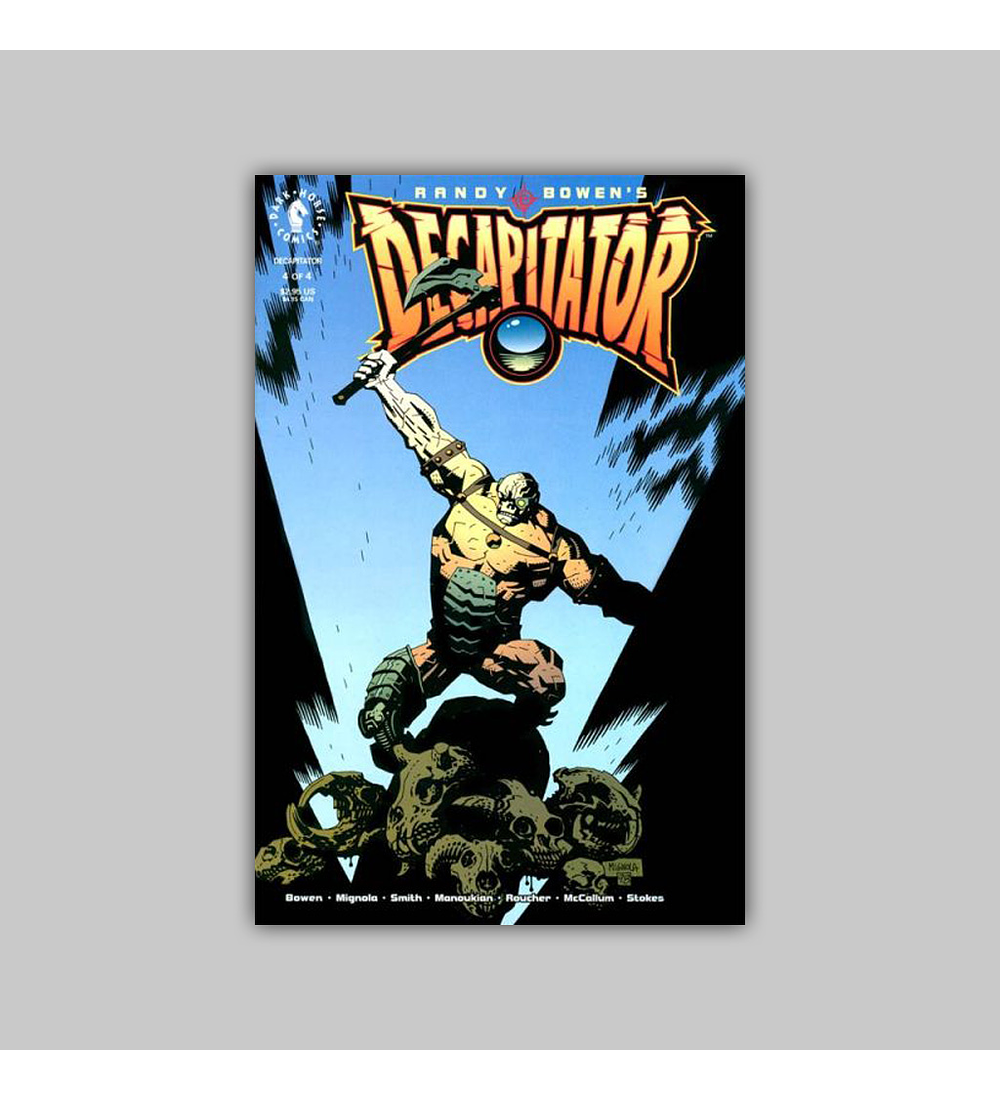 Randy Bowen's Decapitator (complete limited series) 1998