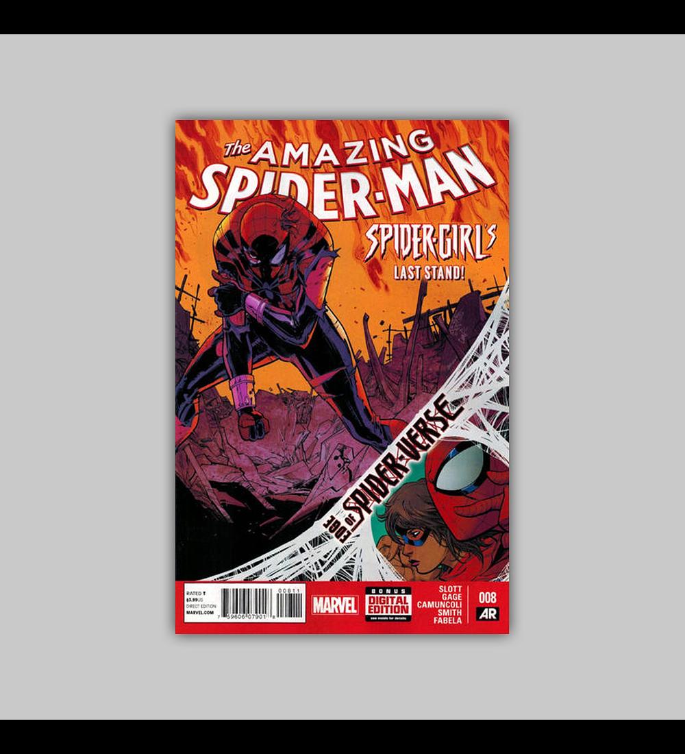 Amazing Spider-Man (Vol. 3) 8 2014