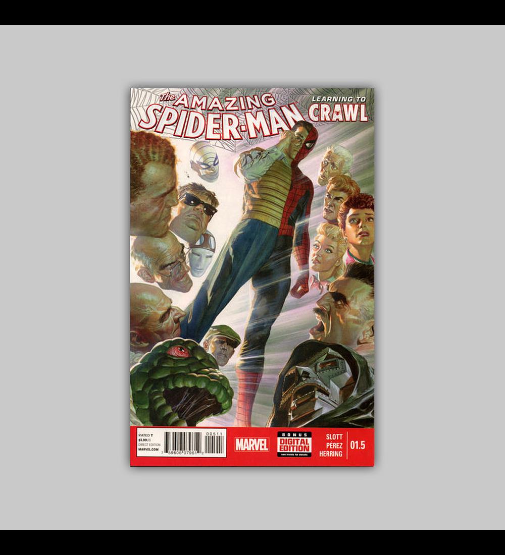 Amazing Spider-Man (Year One) 1.5 2014