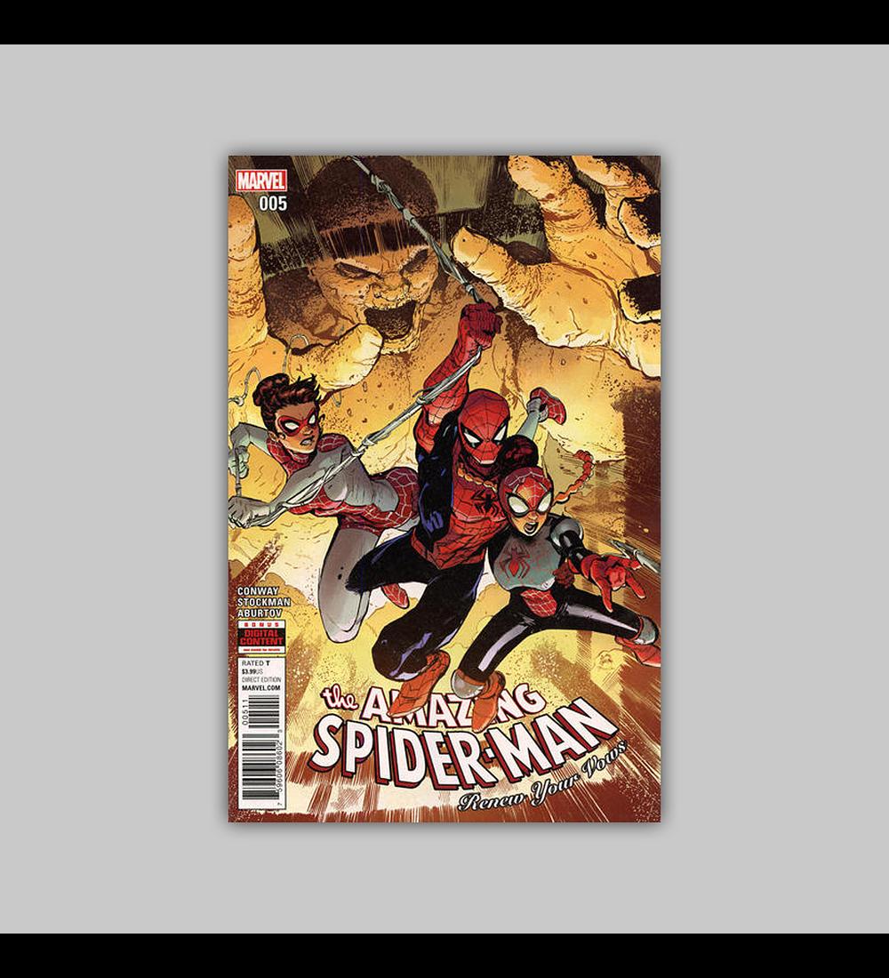 Amazing Spider-Man: Renew Your Vows 5 2015