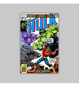 Incredible Hulk 218 FN (6.0) 1977