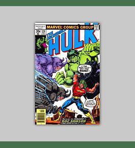 Incredible Hulk 218 FN (6.0) 1977