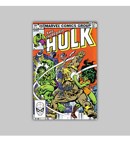 Incredible Hulk 282 FN (6.0) 1983