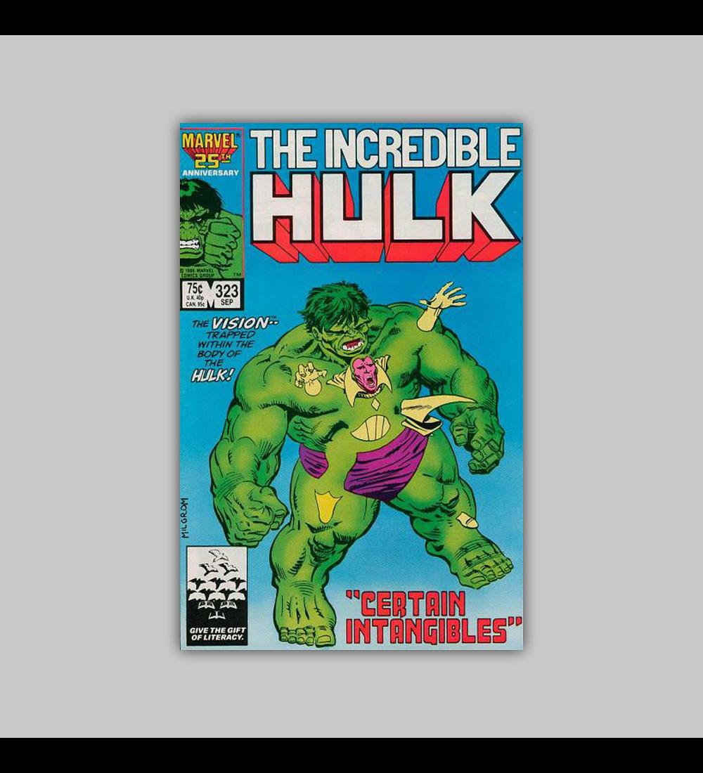 Incredible Hulk 323 1986