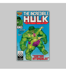 Incredible Hulk 323 1986