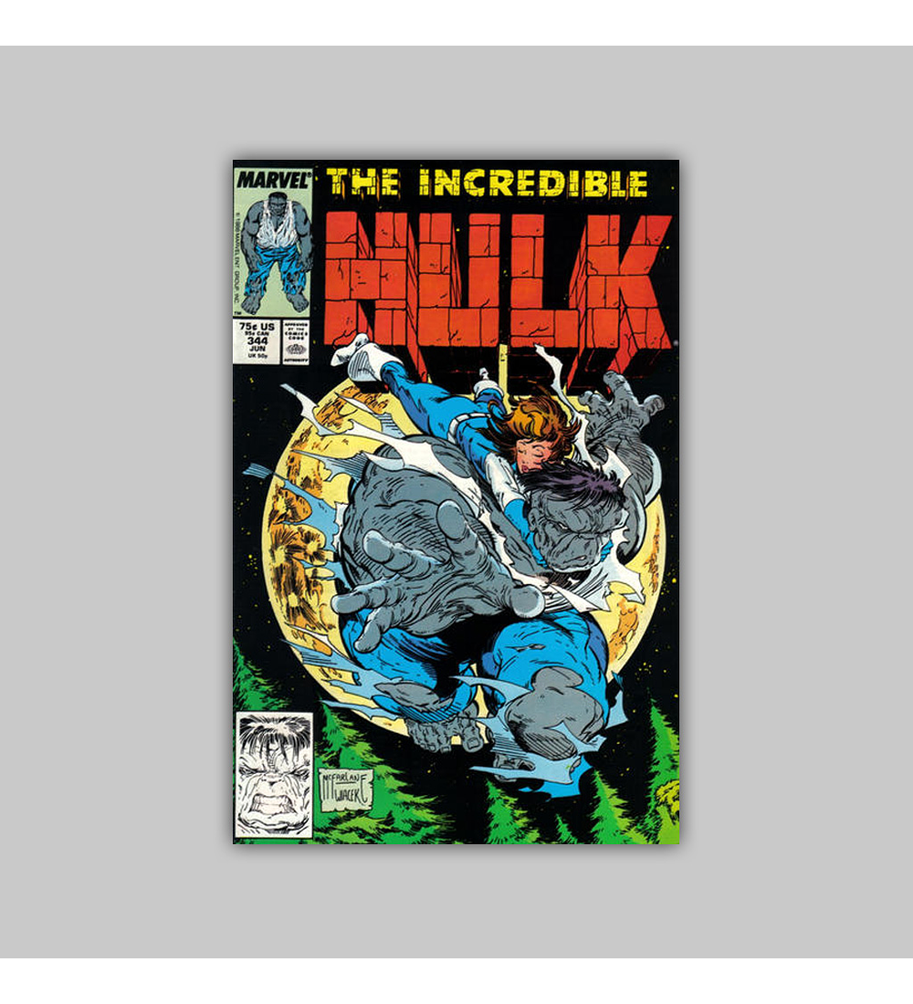 Incredible Hulk 344 VF/NM (9.0) 1988