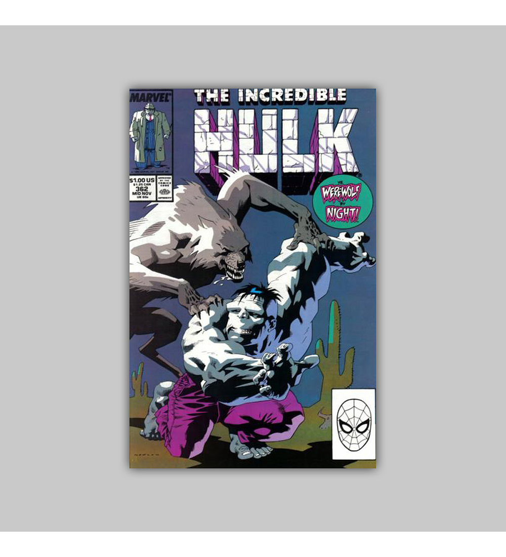 Incredible Hulk 362 1989