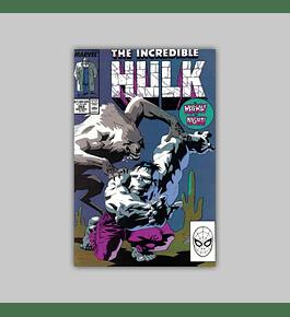 Incredible Hulk 362 1989