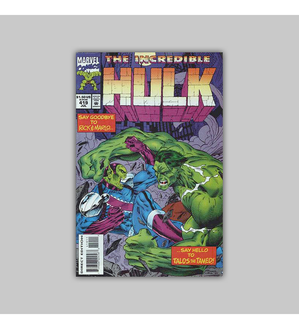 Incredible Hulk 419 1994