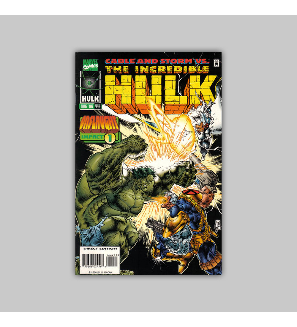 Incredible Hulk 444 1996
