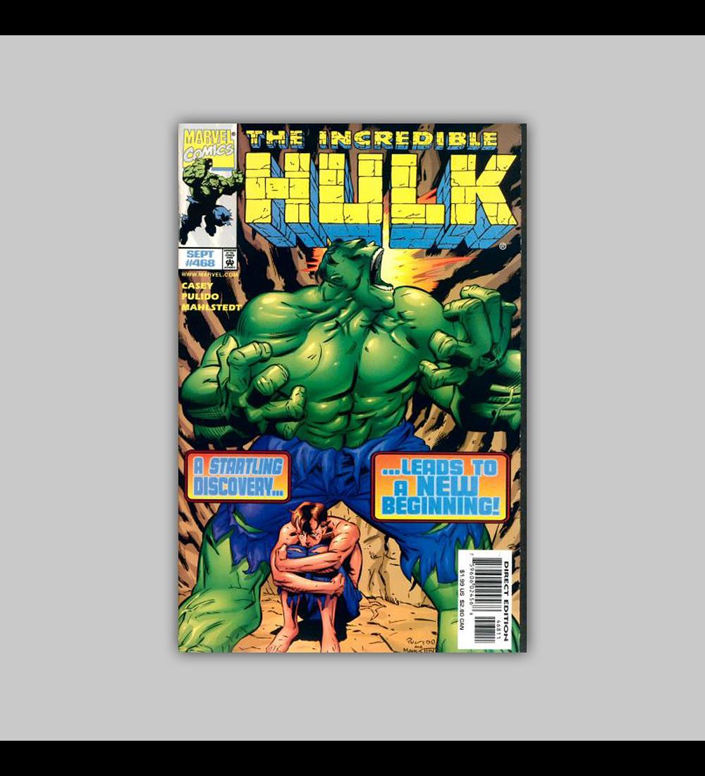Incredible Hulk 468 1998