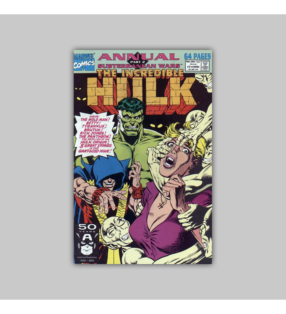 Incredible Hulk Annual 17 1991
