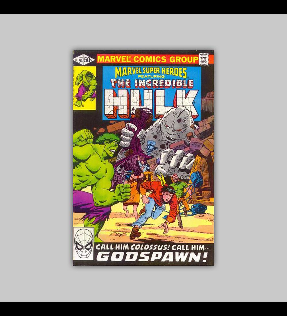 Marvel Super-Heroes 94 VF/NM (9.0) 1981
