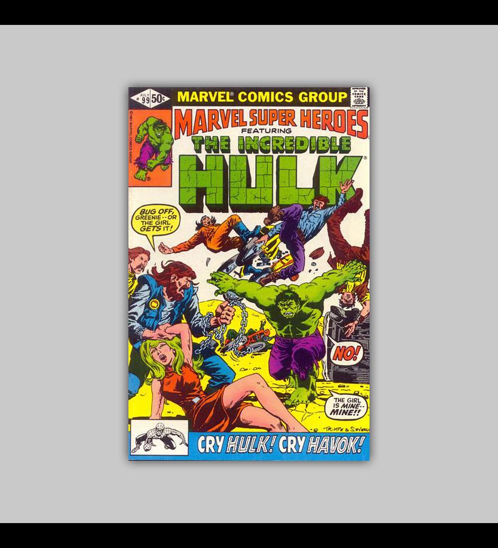 Marvel Super-Heroes 99 VF (8.0) 1981