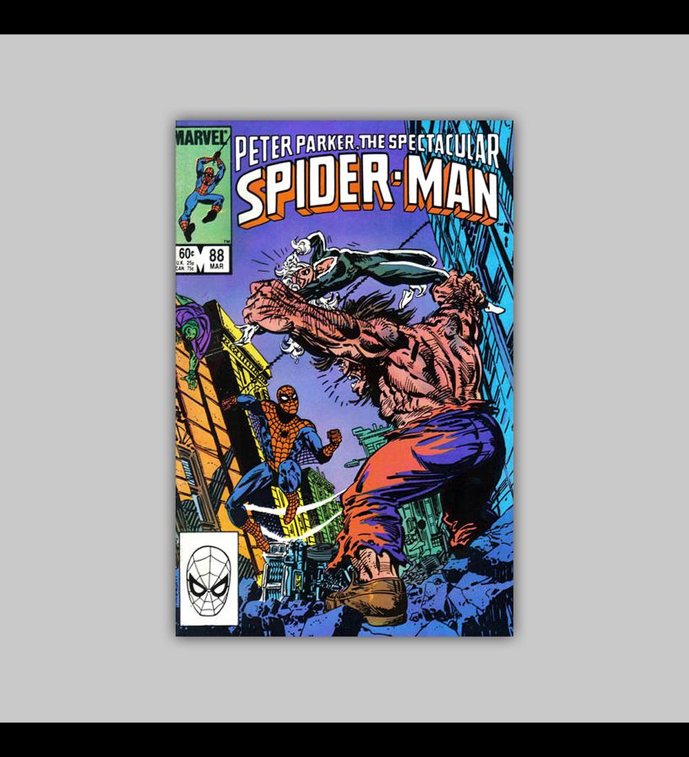 Peter Parker, the Spectacular Spider-Man 88 VF (8.0) 1984