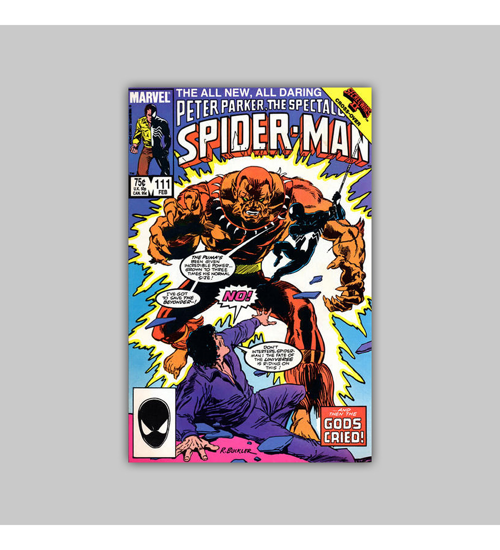 Peter Parker, the Spectacular Spider-Man 111 1986