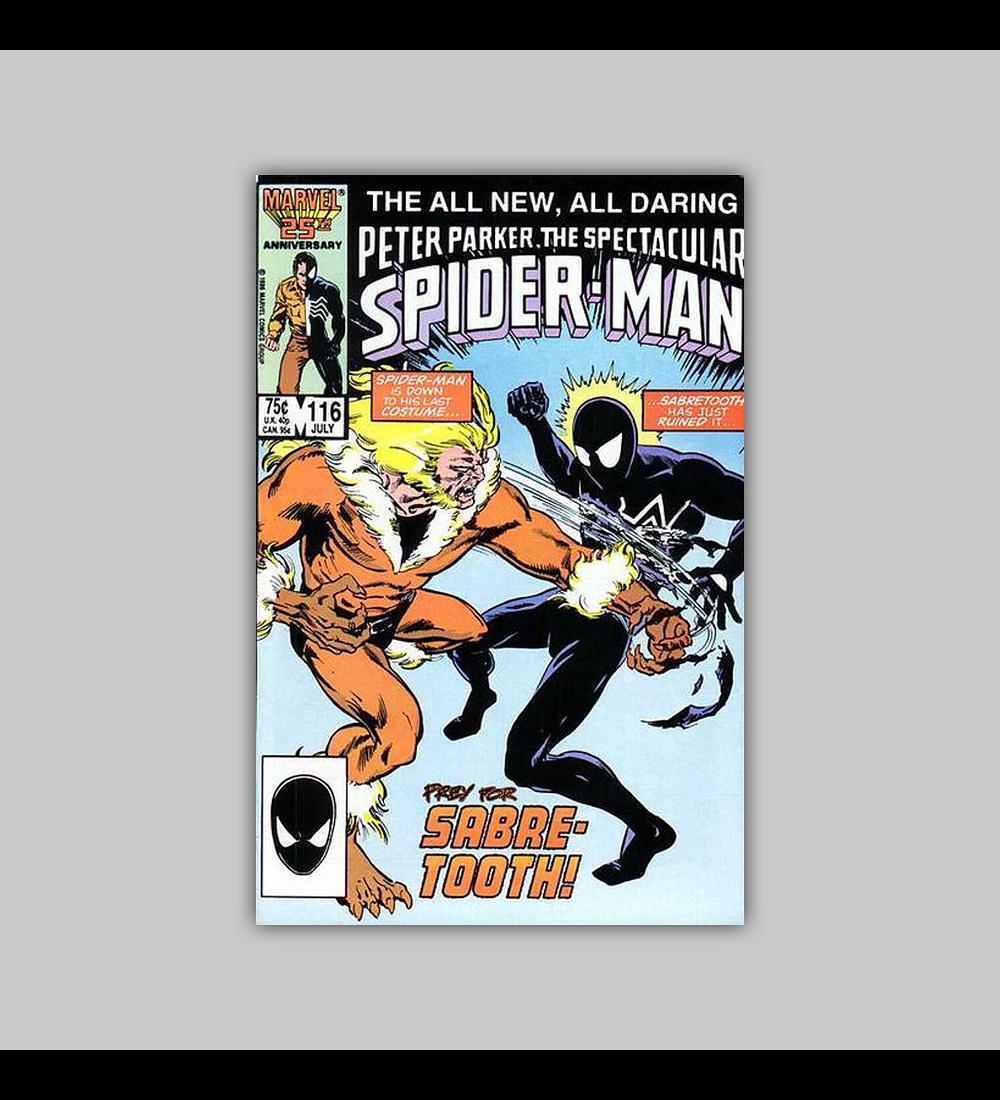 Peter Parker, the Spectacular Spider-Man 116 1986