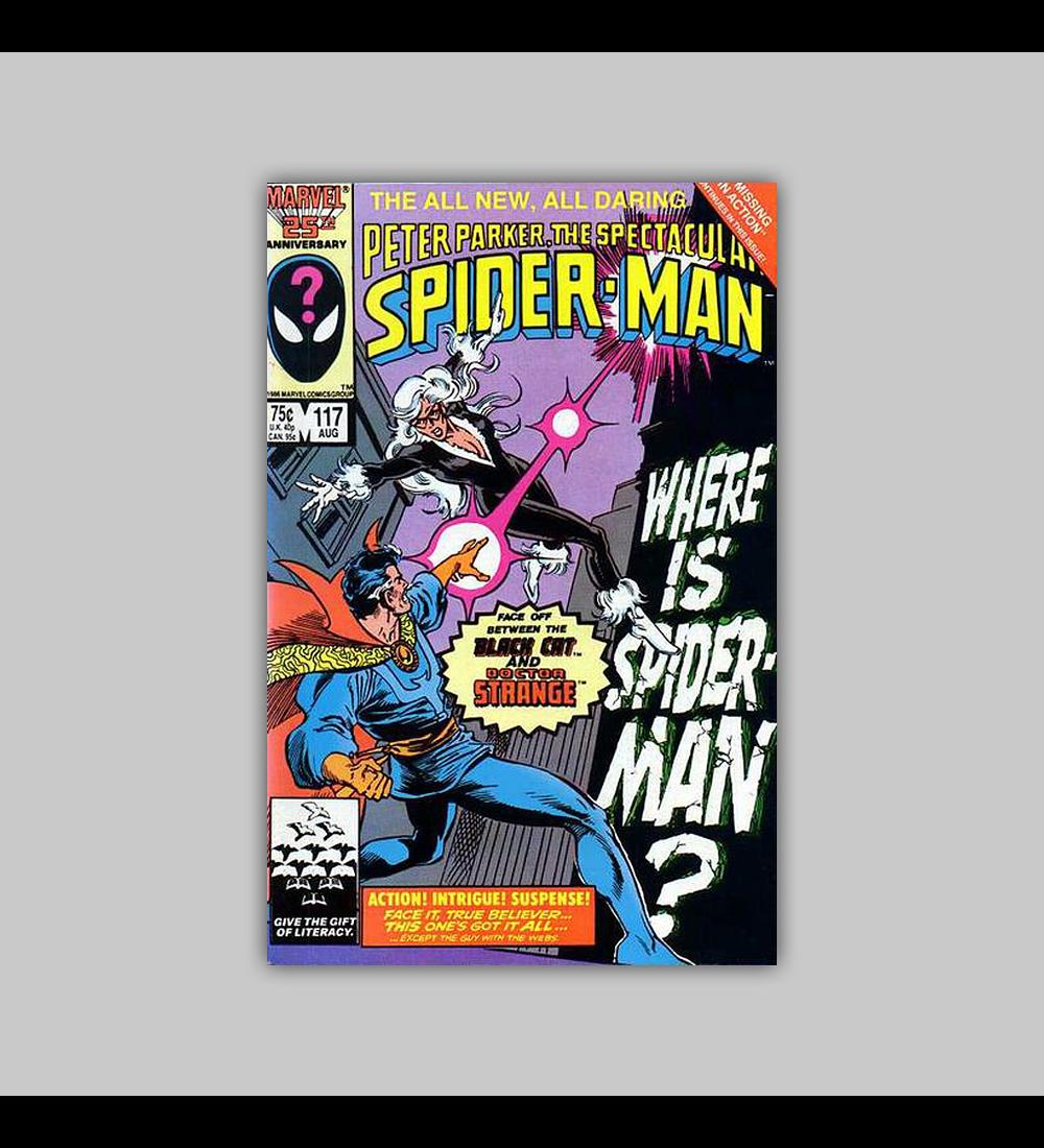Peter Parker, the Spectacular Spider-Man 117 1986