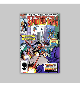 Peter Parker, the Spectacular Spider-Man 118 1986
