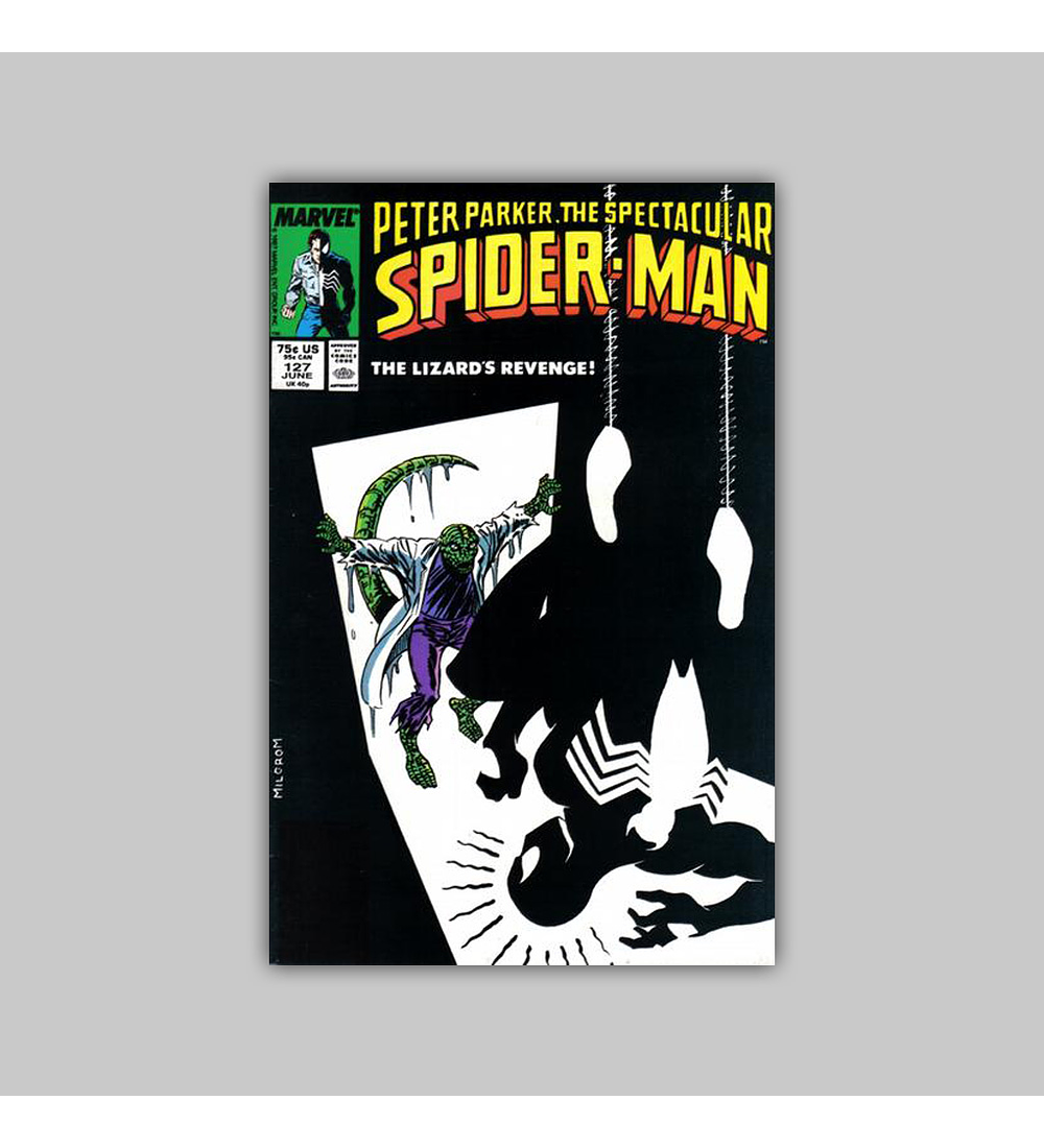 Peter Parker, the Spectacular Spider-Man 127 1987